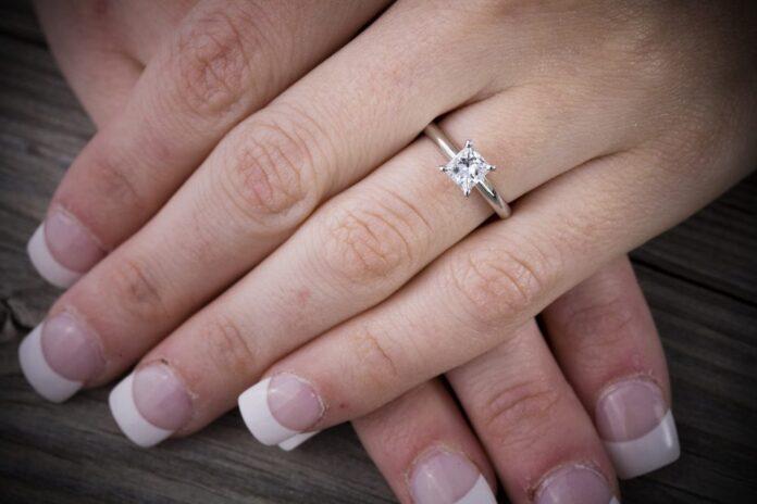 Diamond Shape Rings